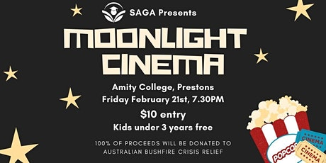 SAGA Moonlight Cinema tickets