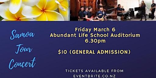 KALS Jazz Band Samoa Tour Concert