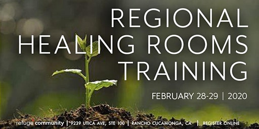 Regional Healing Rooms Training