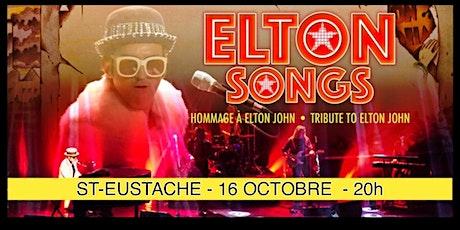 ST-EUSTACHE - ELTON SONGS/ L'hommage à Elton John 25$ billets