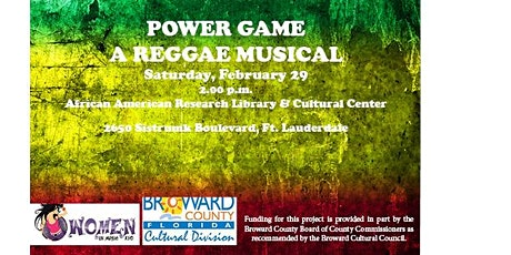 Power Game - A Reggae Musical tickets