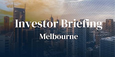 Investor Briefing -  Melbourne tickets