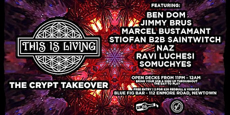 This Is Living #54 - The Crypt Takeover tickets