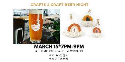 Crafts & Craft Beer Night!