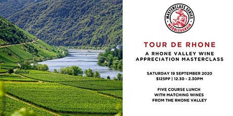 Tour De Rhone  –  A Rhone Valley Wine Appreciation Master tickets