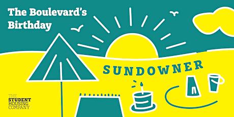 The Boulevard's Birthday Sundowner tickets
