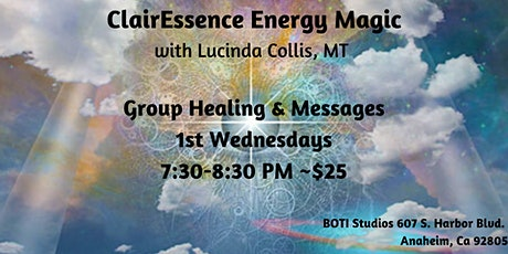 Group Healing & Channeled Message with ClairEssence Energy Magic tickets