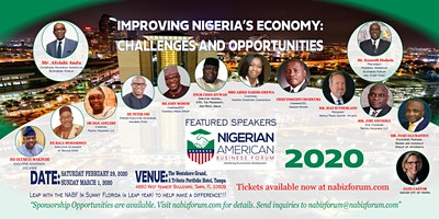 The 2020 Nigerian American Business Forum (NABF) Annual Conference