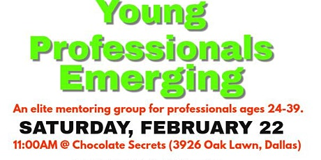 Young Professionals Emerging tickets