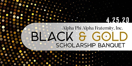 2020 Black & Gold Scholarship Banquet tickets