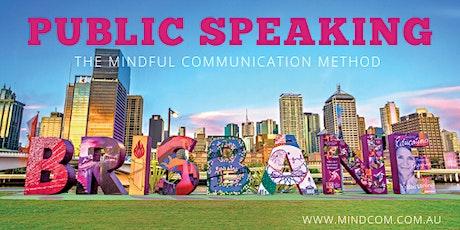 Public Speaking Brisbane tickets