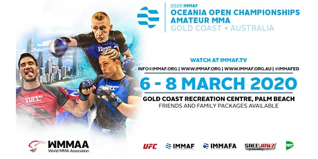 IMMAF Oceania Tournament tickets