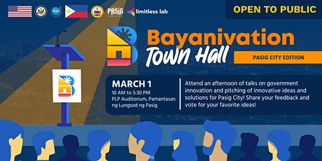 Bayanivation Town Hall: Pitch to the People tickets