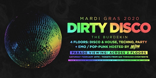 Dirty Disco: Mardi Gras 2020