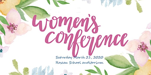 2020 Julie Barnhill Area-Wide Women's Conference - Roseau