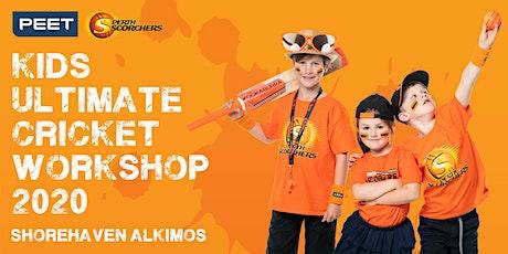 Peet & Perth Scorchers Kids Ultimate Cricket Workshop 2020 - Shorehaven Alkimos tickets