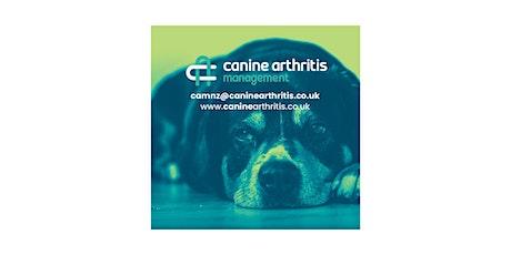 Canine Arthritis Management Vet Nurse CPD Day Christchurch tickets