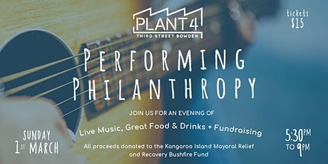 Performing Philanthropy at Plant 4 tickets