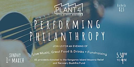 Performing Philanthropy at Plant 4
