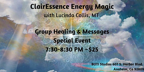 Group Healing & Channeled Message w/ ClairEssence Energy Magic Special Day tickets