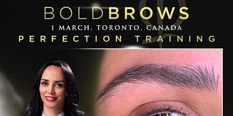Bold Brows Perfection Training Toronto March 2020 tickets