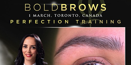 Bold Brows Perfection Training Toronto March 2020