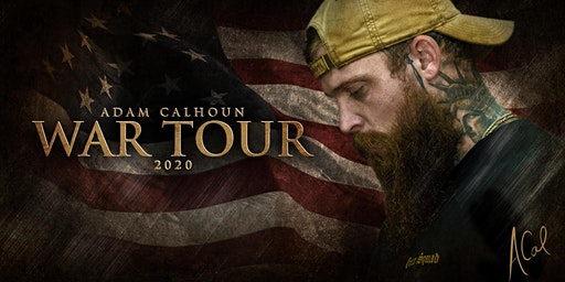 Adam Calhoun War Tour 2020 at Brauer House