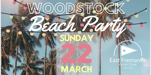 Woodstock Beach Party