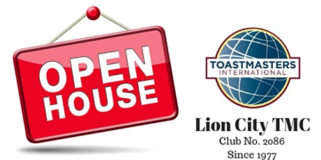 Lion City Toastmasters Club - Open House Chapter Meeting 2020 tickets