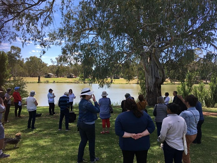 Walking the Murray, Reading Swan Hill image