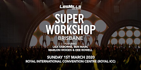 Les Mills Brisbane Super tickets