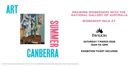 Drawing Workshop with the National Gallery of Australia tickets