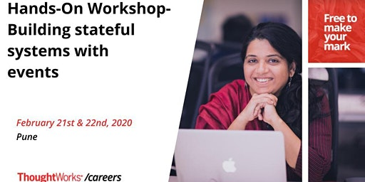 Hands-On Workshop on Building stateful systems with events