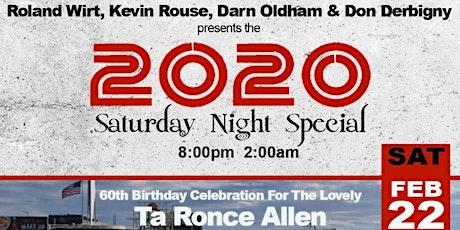 THE 2020 SATURDAY NIGHT SPECIAL @ BARDOT HOLLYWOOD tickets