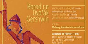 Concerts hiver 2020 - 21 février à St Christophe de...