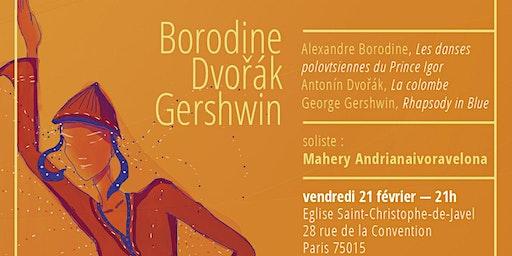 Concerts hiver 2020 - 21 février à St Christophe de Javel, Paris