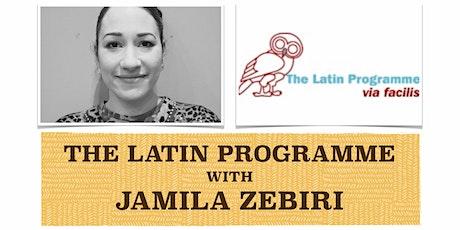 THE LATIN STORY-TIME with JAMILA ZEBIRI tickets