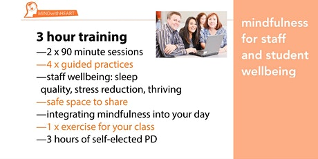 Mindfulness for Staff and Student Wellbeing | 3 Hour Training  tickets
