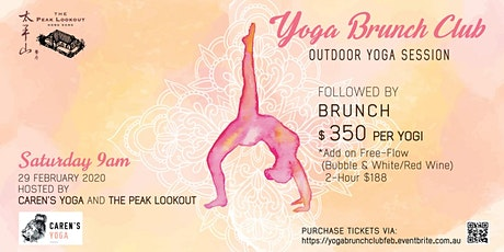 Yoga Brunch Club at The Peak Lookout tickets
