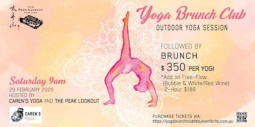 Yoga Brunch Club at The Peak Lookout