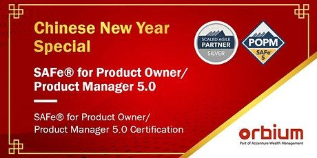SAFe Product Owner/Product Manager 5.0 Certification Class, Singapore tickets