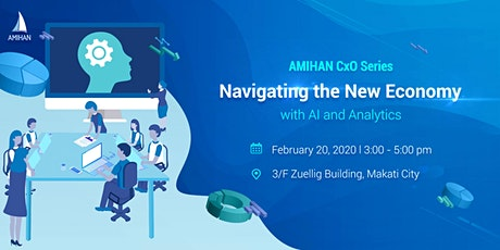 Navigating the New Economy with AI and Analytics tickets