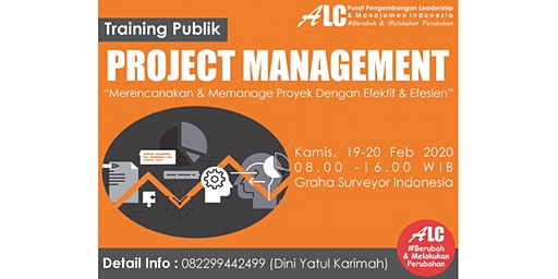 Public Training Jakarta Project Management