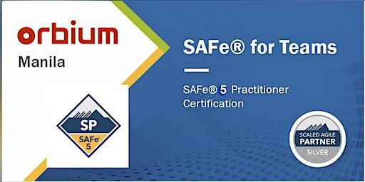 SAFe for Teams 5.0 Certification Training, Manila