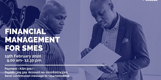 FINANCIAL MANAGEMENT FOR SMEs