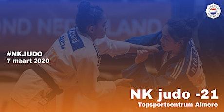 NK Judo -21 jaar 2020 tickets