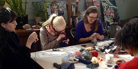 Visible Mending Skills: Darning and Boro at LSD:A Sustainable Fashion Event tickets