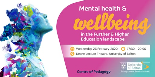 Mental Health & Wellbeing in the Further & Higher Education Landscape