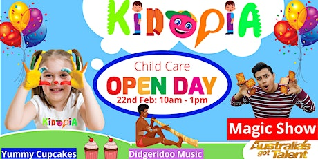 Kidopia Child Care Open Day tickets