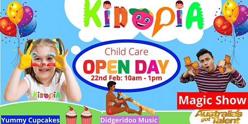 Kidopia Child Care Open Day